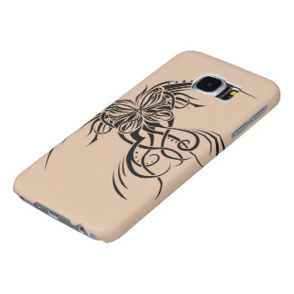 A Butterfly Tattoo Samsung Galaxy S6 Cases