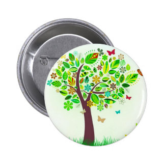 A Butterfly Tree Button