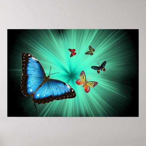 A Butterflys Journey Poster