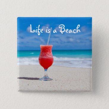 Beach Themed a button