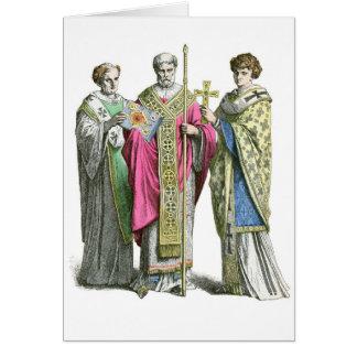 A Byzantine Priest Greeting Card