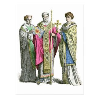 A Byzantine Priest Postcard