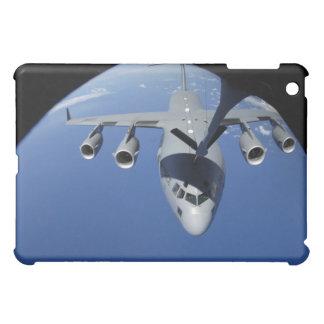 A C-17 Globemaster III receives fuel 2 iPad Mini Cases