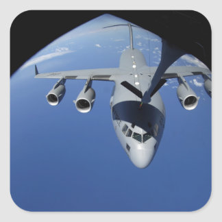 A C-17 Globemaster III receives fuel 2 Sticker