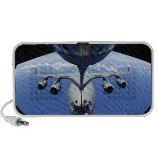 A C-17 Globemaster III receives fuel PC Speakers