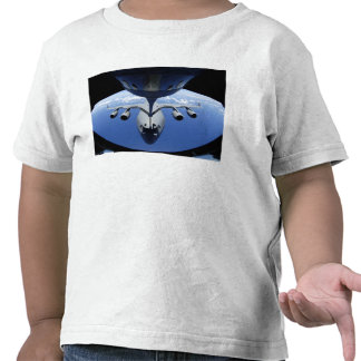 A C-17 Globemaster III receives fuel Tee Shirt