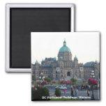 A.C. edificios/Victoria A.C. Canadá del parlamento Iman Para Frigorífico