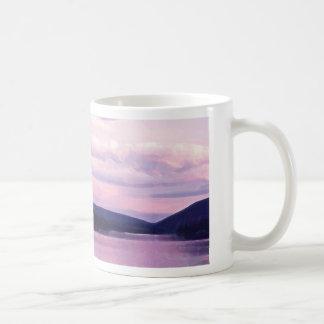 A.C. taza de la puesta del sol
