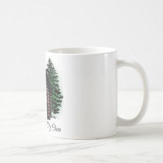 A Cabin of My Own Classic White Coffee Mug