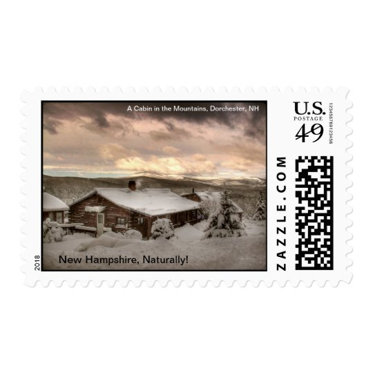A Cabin Snug in the Mountains: NH Naturally Stamp