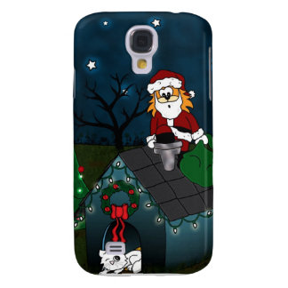 'A Caboodle Christmas' Galaxy S4 Covers
