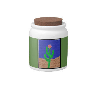 A Cactus Flower Candy Dishes