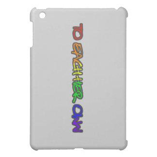 A cada su propio caso del ipad gris claro iPad mini fundas