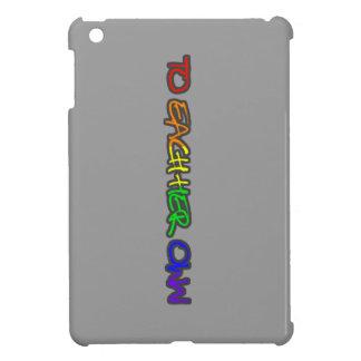 A cada su propio gris del caso del ipad iPad mini cárcasas