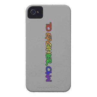 A cada su propio gris del caso del iphone 4 de las iPhone 4 Case-Mate funda
