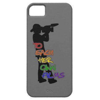 A cada su propio gris del caso del iphone 5 apenas iPhone 5 Case-Mate carcasa