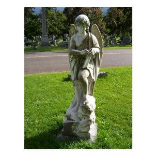 A Calculating Angel Postcard