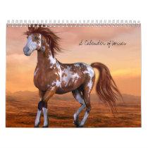 A Calender of Horses Calendar