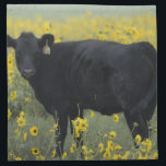 "A calf amid the sunflowers of the Nebraska Napkin<br><div class=""desc"">A calf amid the sunflowers of the Nebraska Sandhills   Gayle Harper / DanitaDelimont.com</div>"