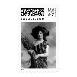 A California Hayseed Stamp