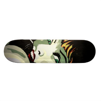 'A Call in the Night' Skateboard