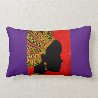 A Call to Egypt II by Alicia L. McDaniel Lumbar Pillow