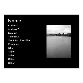 A Calm Bay in Ireland. Near Rosscarbery. Large Business Card