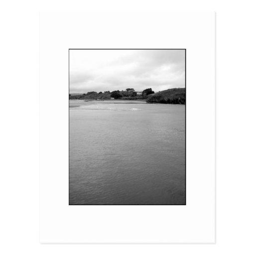 A Calm Bay in Ireland. Near Rosscarbery. Postcard