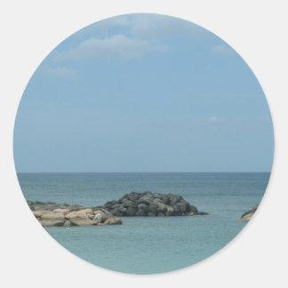 A Calm Pacific Stickers
