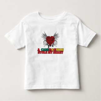 A Cameroonian Stole my Heart Toddler T-shirt