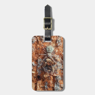 A Camouflaged Bark Spider Luggage Tag