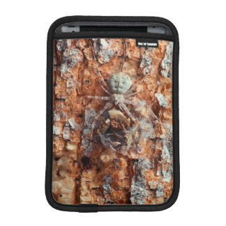 A Camouflaged Bark Spider Sleeve For iPad Mini