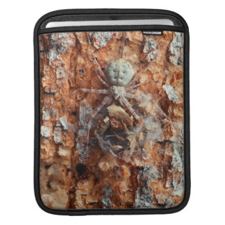 A Camouflaged Bark Spider Sleeves For iPads