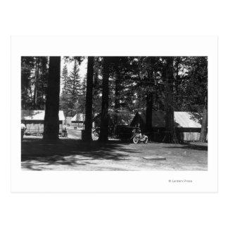 A Campground Scene Postcards