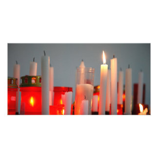 A Candle for Peace Card