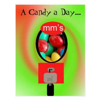 A Candy a Day... Postcard