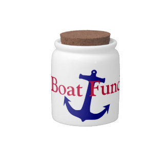 A Candy Jar to save money for your boat in