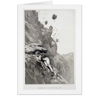 A Cannonade on the Matterhorn, 1862, from 'The Asc Card
