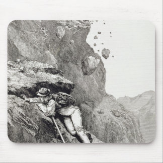 A Cannonade on the Matterhorn, 1862, from 'The Asc Mouse Pad