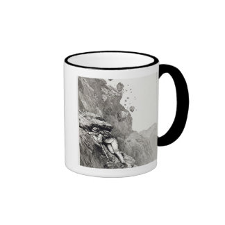 A Cannonade on the Matterhorn, 1862, from 'The Asc Coffee Mug