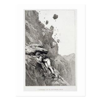 A Cannonade on the Matterhorn, 1862, from 'The Asc Postcard