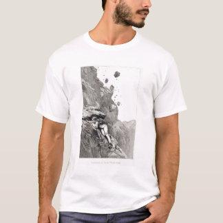 A Cannonade on the Matterhorn, 1862, from 'The Asc T-Shirt