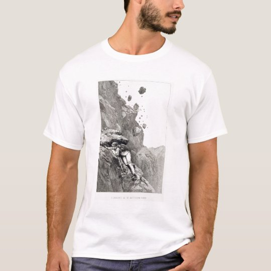 A Cannonade on the Matterhorn, 1862, from 'The Asc T-Shirt