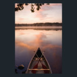 "A canoe rests on the shore of Pawtuckaway Lake Photo Print<br><div class=""desc"">A canoe rests on the shore of Pawtuckaway Lake at dawn as seen from Horse Island in New Hampshire&#39;s Pawtuckaway State Park � Jerry and Marcy Monkman / DanitaDelimont.com</div>"
