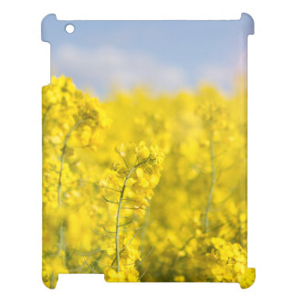 A canola field in spring case for the iPad 2 3 4