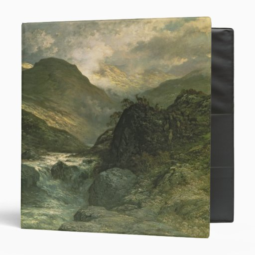 A Canyon, 1878 3 Ring Binders