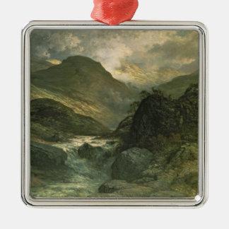 A Canyon, 1878 Metal Ornament