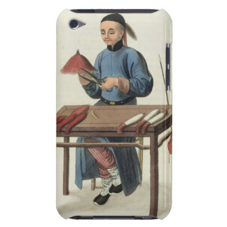 A Cap Maker, plate 51 from 'The Costume of China', iPod Touch Case-Mate Case