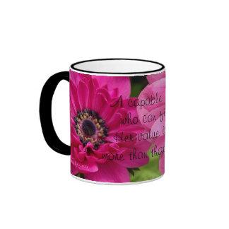 A capable Wife...Proverbs 31:10 Ringer Mug