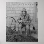 A Cape Ann Fisherman Poster